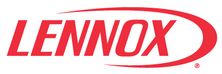 Image of Lennox furnace logo and website link