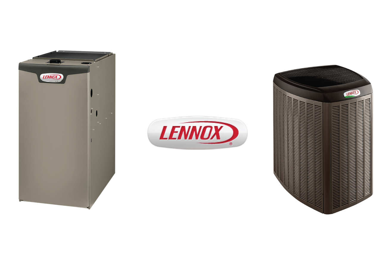 Image of Lennox furnace and air conditioner combo