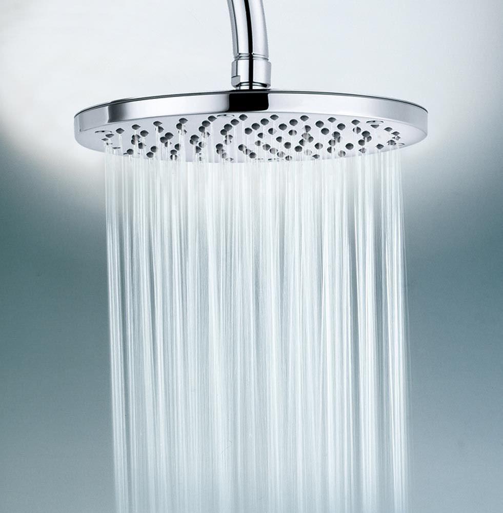 Image of shower head spraying water