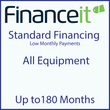 Image of Standard Financing, up to 180 months with website link