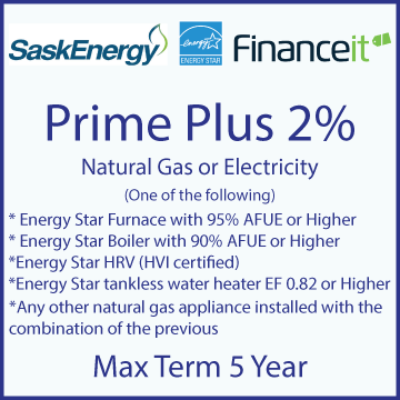 Image of Prime Plus 2% Financing, 5 year term maximum with website link