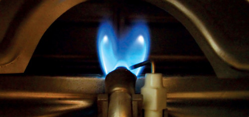 Image of furnace pilot light