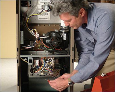 furnace repair man