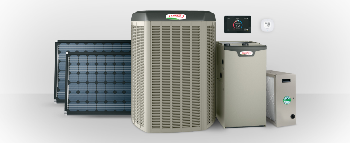 heating and AC equipment