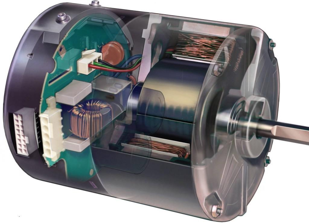 ECM motor