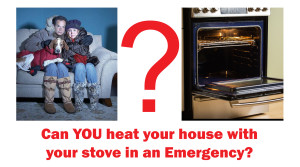 using an oven for heat Saskatoon