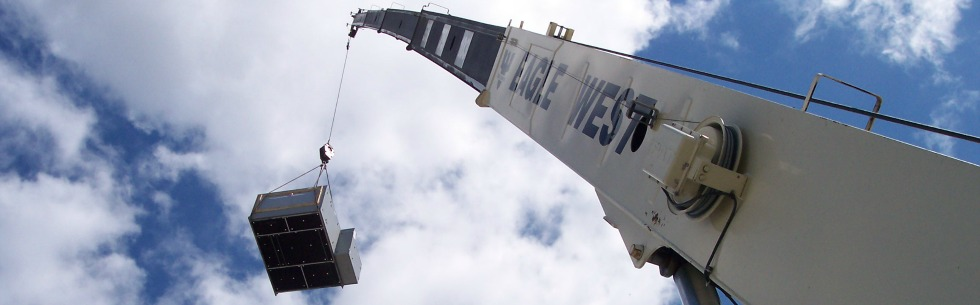 HVAC Construction Crane