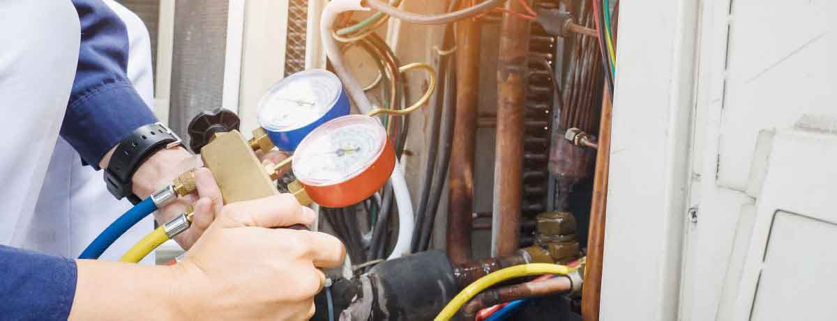 commercial HVAC technician