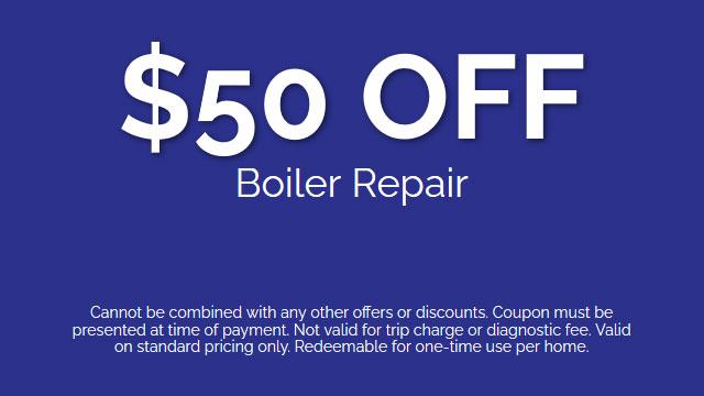 Discount on Boiler Repair