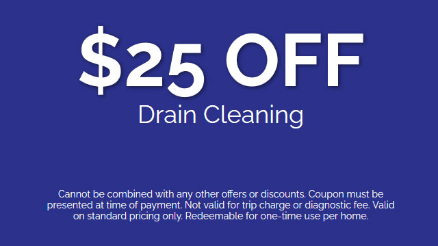 Discount on Drain Cleaning